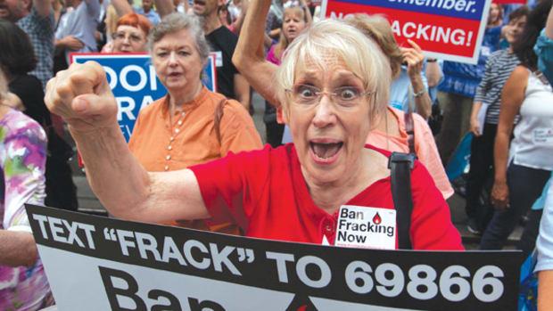 """""""Don't Frack New York!"""" Rally"""