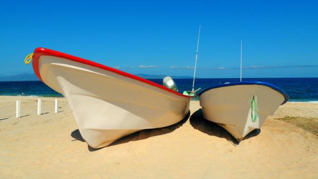 Panga boats