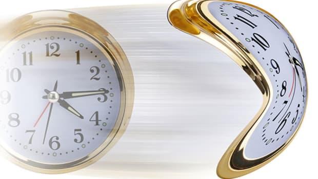 accelerating-clock