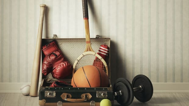 old-sports-equipment