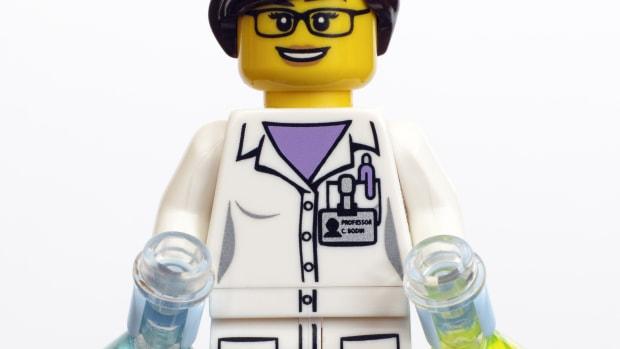 Lego woman.