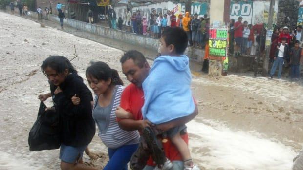 chosica landslide peru