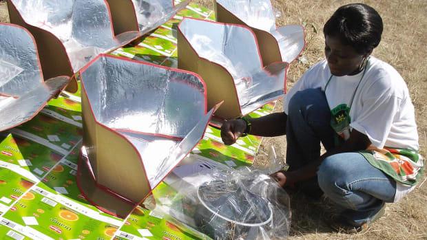 solar stove Kenya's Rift Valley province
