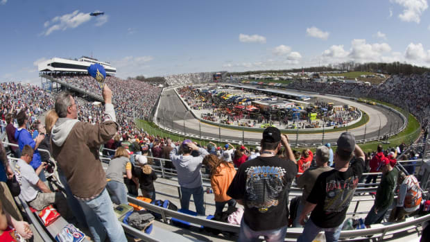NASCAR fans in Martinsville, Virginia.