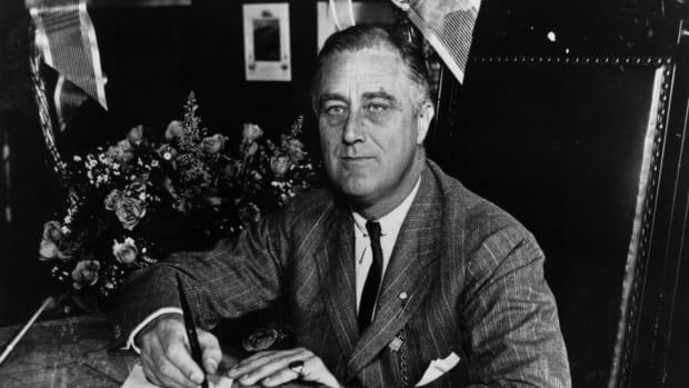 Franklin Roosevelt.