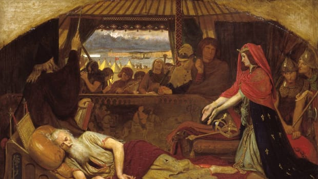 Lear and Cordelia, by Ford Madox Brown.