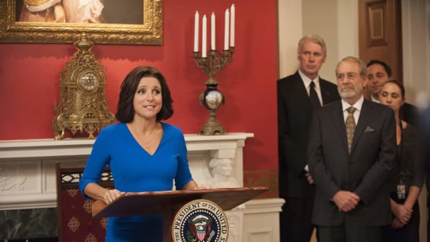 Julia Louis-Dreyfus in HBO's Veep.