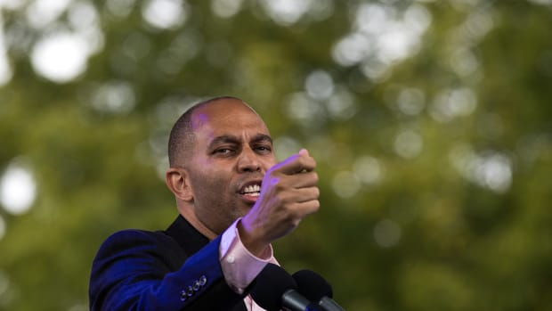 Representative Hakeem Jeffries, pictured here in 2016.