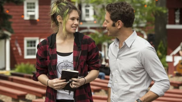Transgender advocate Nicole Maines in her appearance on Royal Pains.