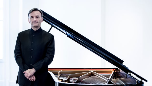 Pianist, poet, and painter Stephen Hough.