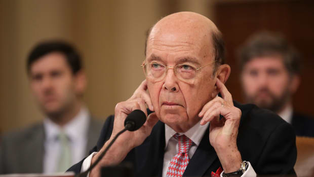 U.S. Secretary of Commerce Wilbur Ross testifies before the House Ways and Means Committee.