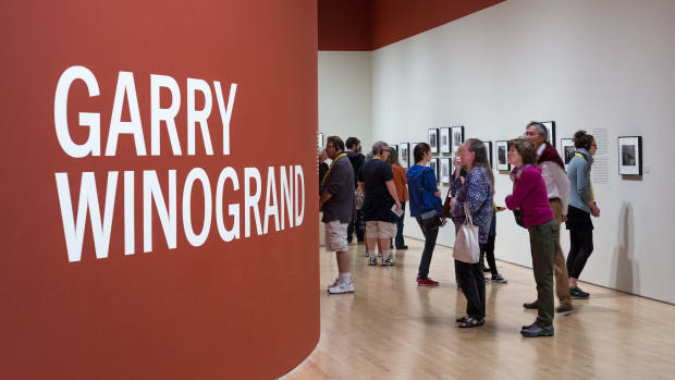 Exhibition at the San Francisco Museum of Modern Art, 2013.