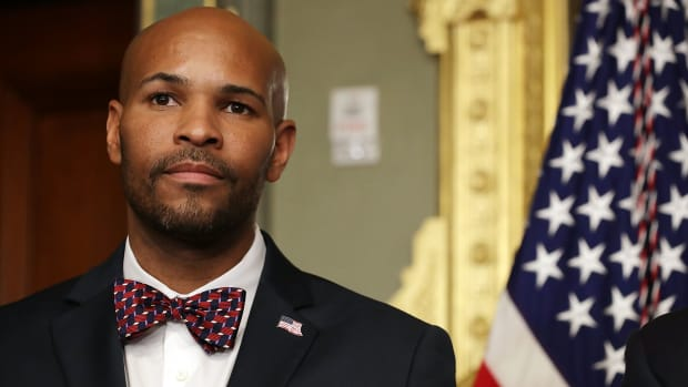 Surgeon General Jerome Adams.
