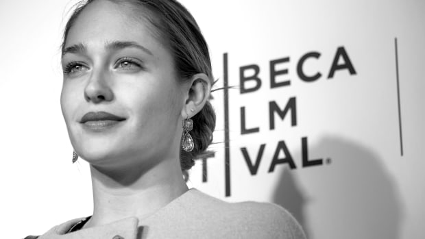 Actress Jemima Kirke at the 2014 Tribeca Film Festival in New York City.