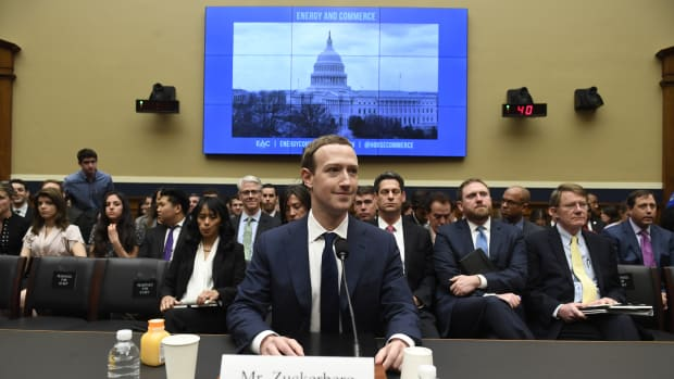 Facebook Chief Executive Officer Mark Zuckerberg testifies during a U.S. House Committee on Energy and Commerce hearing about Facebook on Capitol Hill in Washington, D.C, on April 11th, 2018.