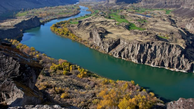 Snake River Canyon in Twin Falls, Idaho.