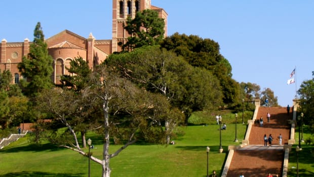 The Janss Steps at the University of California–Los Angeles.