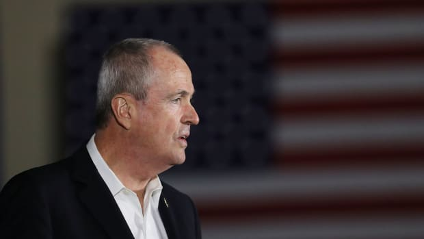 New Jersey Governor Phil Murphy.