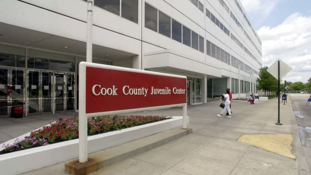 The Cook County Juvenile Center houses the youth detention center.