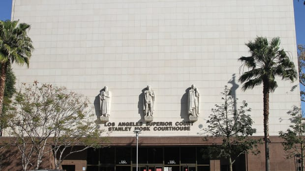 Stanley Mosk Courthouse in Los Angeles, California.