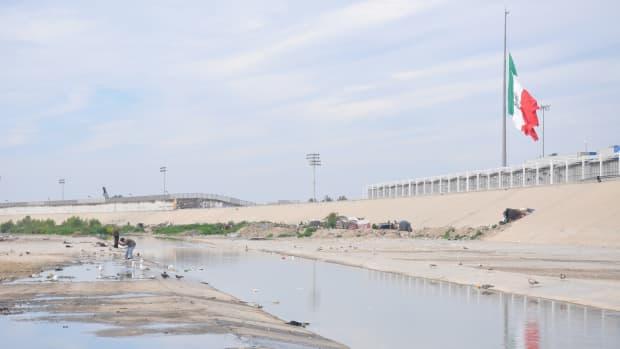 Tijuana River bed