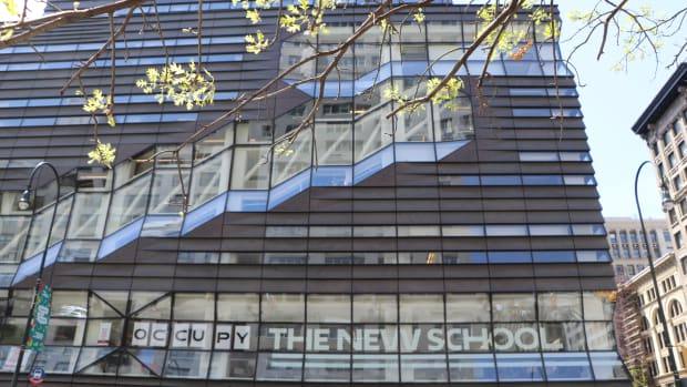 The New School's University Center.
