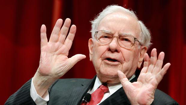 Warren Buffett speaks onstage during Fortune's Most Powerful Women Summit on October 13th, 2015, in Washington, D.C.