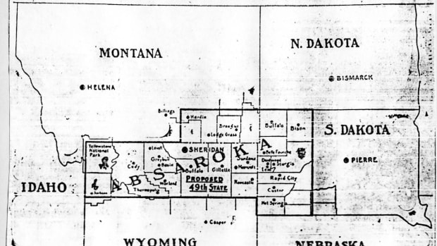 A map of the Absaroka proposal.