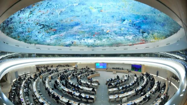 A general view of participants at the 16th Session ot he Human Rights Council