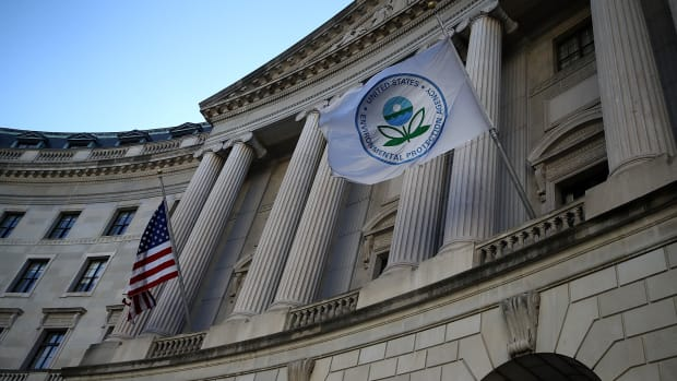 A view of the Environmental Protection Agency headquarters.