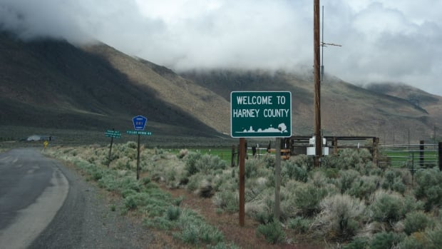 Harney County is a remote area of Oregon, closer to Nevada than to Portland.
