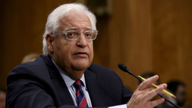 David Friedman testifies on his nomination to be the U.S. ambassador to Israel before the Senate Foreign Relations Committee.