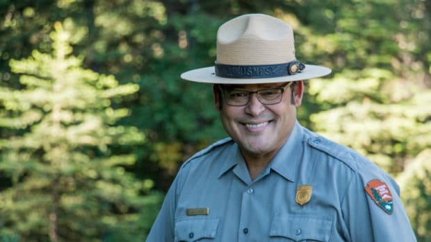 Grand Teton National Park Superintendent David Vela.