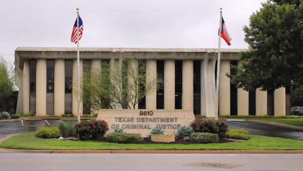 The Texas Department of Criminal Justice in Austin, Texas.