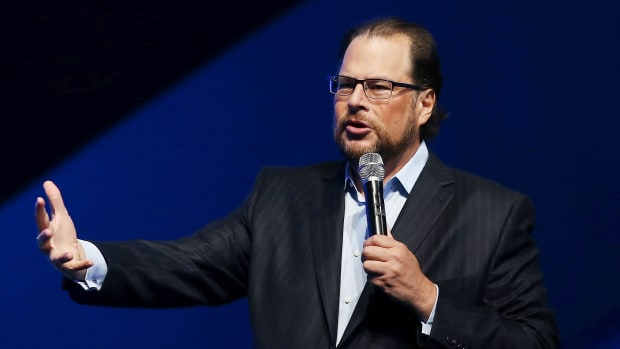 Salesforce's Marc Benioff.