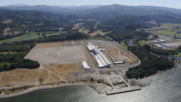 The Port of Kalama property, where Northwest Innovation Works hopes to build a methanol plant.
