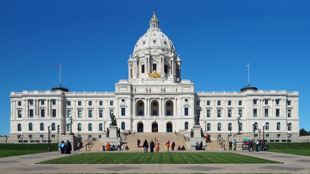 The Minnesota State Capitol, in St. Paul, Minnesota.