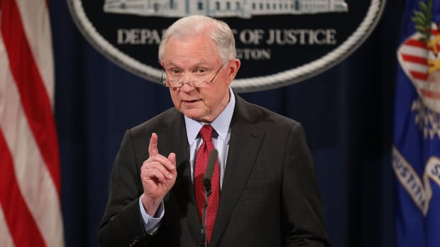 Former United States Attorney General Jeff Sessions.