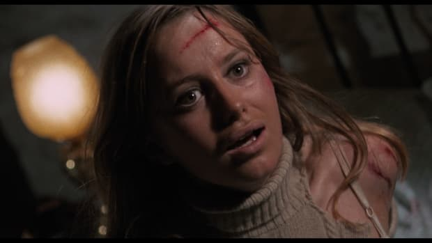 A scene from 1971's Straw Dogs, which depicts a brutal rape.