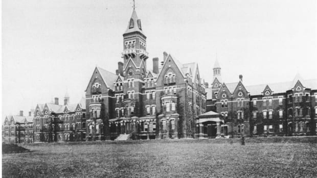 Danvers State Hospital, Massachusetts.