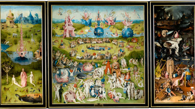 The Garden of Earthly Delights, Hieronymus Bosch, 1515.