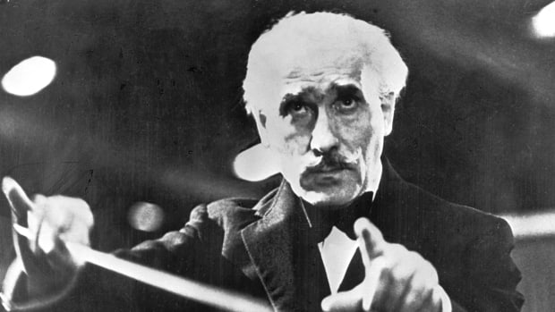 Italian conductor Arturo Toscanini, pictured here in 1944.