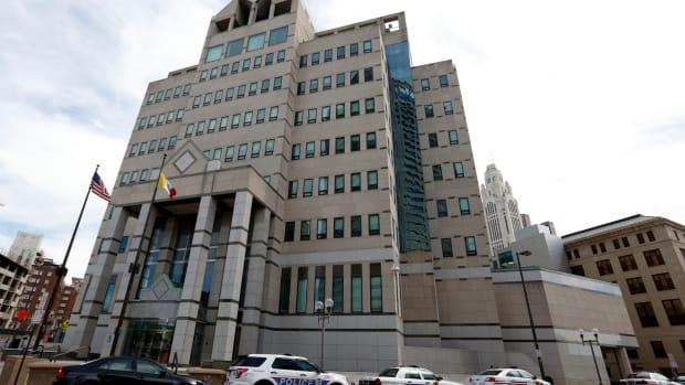 The Columbus, Ohio, Division of Police Central Headquarters, in Columbus, Ohio.