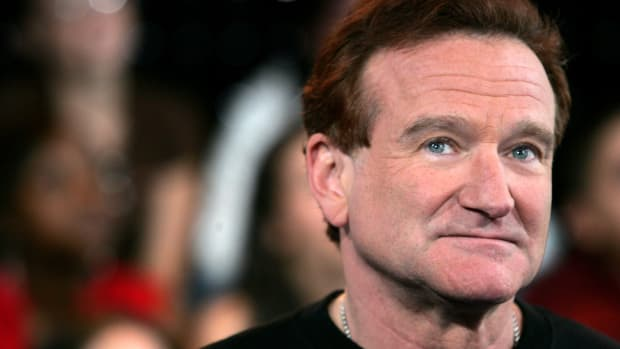 Robin Williams, pictured here in August of 2006.