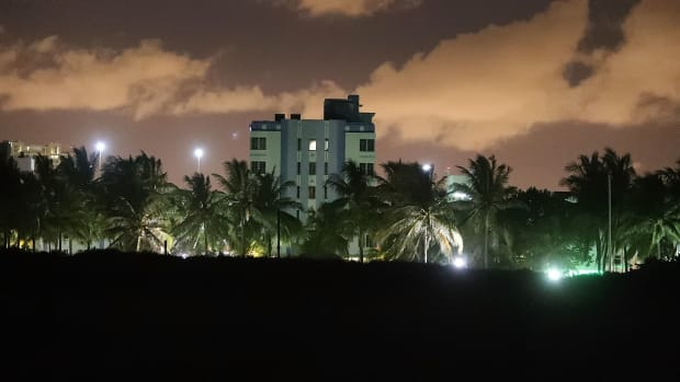 Part of the Miami Beach skyline.