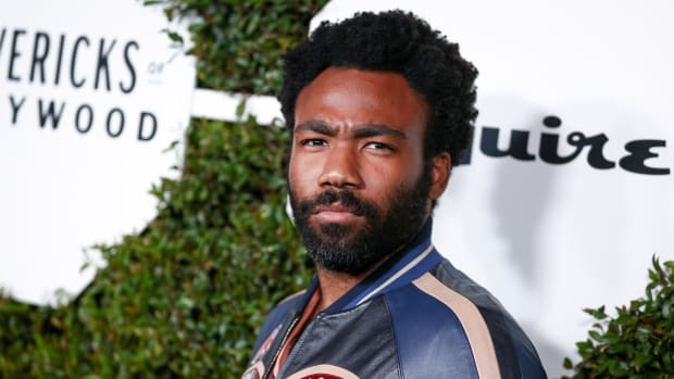 Donald Glover attends an Esquire event in Hollywood on February 20th, 2018.