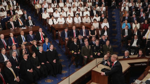 President Donald Trump delivers the 2019 State of the Union.