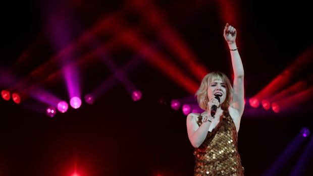 Singer/songwriter Carly Rae Jepsen.