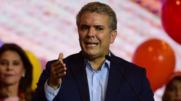 Colombian President Ivan Duque.