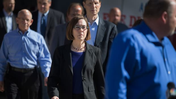 Oregon Governor Kate Brown.